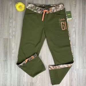 Cabela's Women's Gameday Pants Laurel Green/ Camo